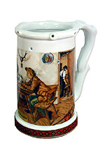 Beerstein Trick Mug A Hard Decision 7.3inches